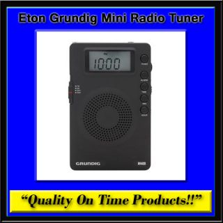 New Eton Grundig Mini Radio Tuner Compact AM FM Shortwave SW Receiver