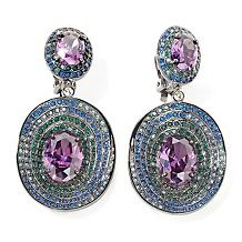 95 real collectibles by adrienne three layer earrings $ 27 97 $ 79 95