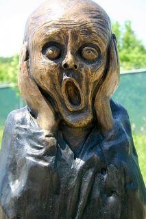 Bronze Scream Sculpture Statue Edvard Munch Museum Art