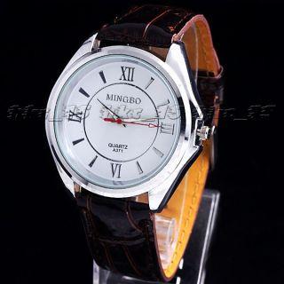 3pcs New Big Dial Style Fashion Quartz Watch Wristwatch Watches