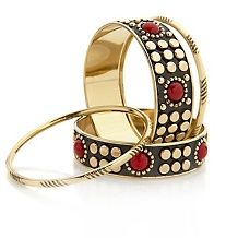 Justine Simmons Jewelry Pavé Crystal Bangle Bracelet