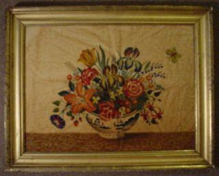 David Y Ellinger Oil Painting Theorem Vase of Flowers