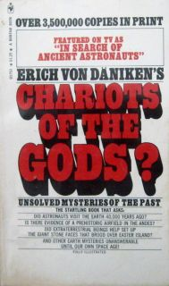 Erich Von Daniken Chariots of The Gods PB 27th Bantam Q5753 1973 Ufos