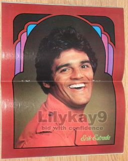 Erik Estrada Chips Little House on The Prairie Supermag