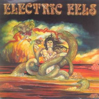 Electric Eels CD Self Titled 1984 Melodic Hard Rock Classic Metal The