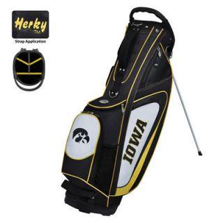 Team Effort Collegiate Gridiron II Golf Stand Bag Iowa Hawkeyes BRAND