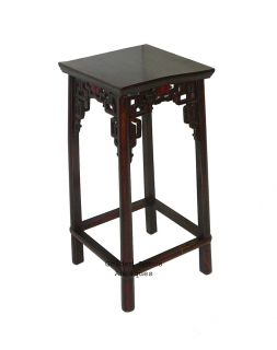 Chinese Antique Carve Elmwood Flower Plant Stand WK1332