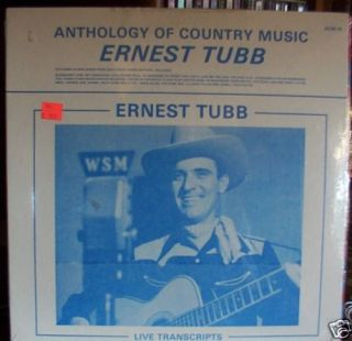 Ernest Tubb LP SS Anthology of Country Music