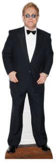 Elton John Lifesize Cardboard Cutout Standee Standup Singer Pop Star