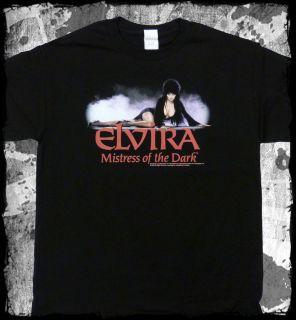 Elvira   Mistress of the Dark Classic Pose t shirt   Official   FAST