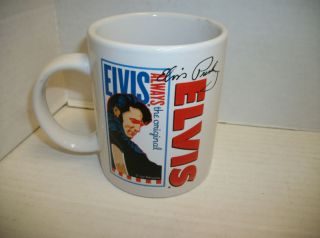 Elvis Presley Signature Product Ceramic Coffee Mug Cup
