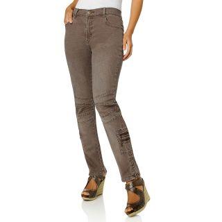 108 308 diane gilman stretch denim skinny cargo jeans note customer