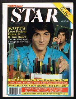 Star Teen Magazine Kiss Billy Joel Greg Evigan Matt Dillon 1981