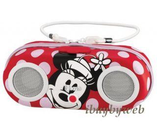Ekids DM M13 Disney Kids Minnie Mouse Water Resistant iPod  Speaker