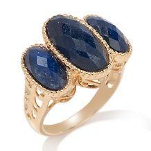 technibond precious gem faceted oval 3 stone ring d 20110308171416613