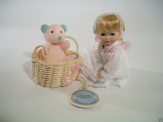 Emerald Doll Collection Exclusive Designs Porcelain Doll 6 1 2 Tall