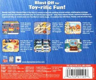 Toy Story 2 Activity Center PC CD Movie Game 044702011056