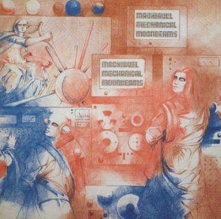 Hear ORIG BELGIUM EMI COSMIC PROG LP Machiavel Moonbeans GTF Pink