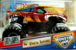 EL TORO LOCO Hot Wheels 2012 Monster Jam 1 24 Scale NEW ITEM