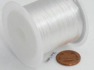 50 Feet 0 5mm Crystal White Stretch Floss Elastic Cord