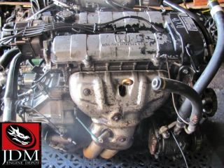 94 95 HONDA CIVIC INTEGRA DOHC 1.6L OBD1 ENGINE JDM ZC DUAL CAM ENGINE