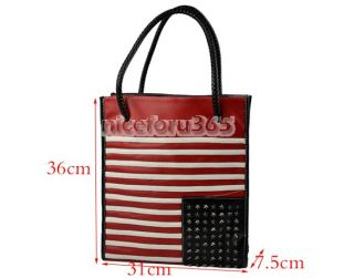 N4U8 New Fashion Women England Flag PU Leather Handbag Shoulder