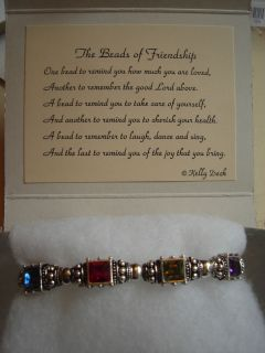 Friendship Bracelet with Poem Card and Gift Box Friends