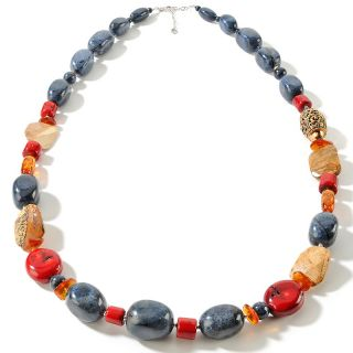 Studio Barse Multigemstone Sterling Silver Beaded 38 Necklace