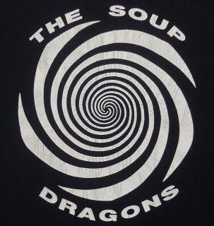 VINTAGE THE SOUP DRAGONS EMO INDIE ROCK TOUR CONCERT T SHIRT L