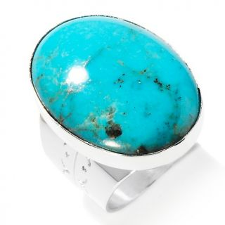 turquoise sterling silver oval ring note customer pick rating 58