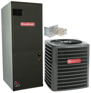 SEER Complete Air Conditioner and Electric Furnace Split System