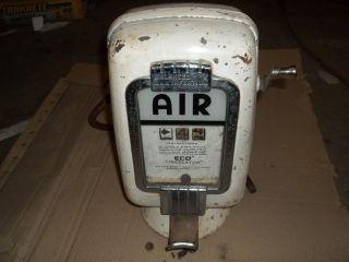 Vintage Eco Gas Station Tireflator Pump