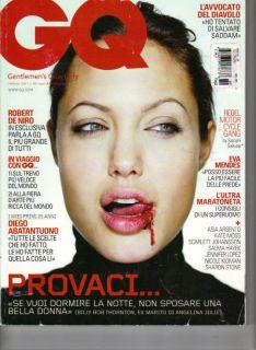 Angelina Jolie Italian GQ Magazine 2 07 Eva Mendes