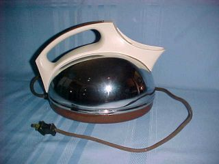 Vintage General Electric Tea Kettle Chrome Eames / Art Deco Works