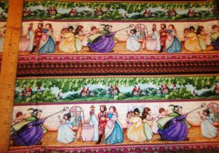 Mary Engelbreit Fabric Sleeping Beauty Stripe Fabric