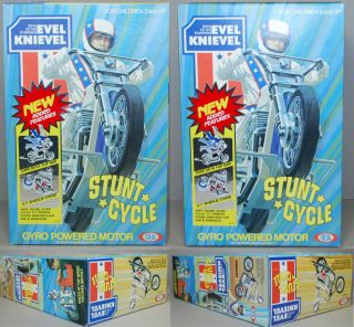 Evel Knievel 1977 Ideal Le Super Stunt GT Cycle Facotry SEALED