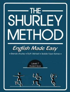 Shurley Method English Made Easy Level 7 Student Book 1st Edition