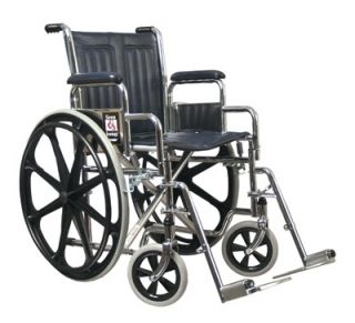 Everest Jennings E J Traveler Wheelchair 18x16