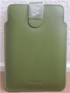 Kobo eReader Leather Magnetic Strap Sleeve Case Forest Green EX Point