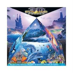 PYRAMID JIGSAW PUZZLE WONDERS OF THE UNIVERSE CHRISTIAN RIESE LASSEN