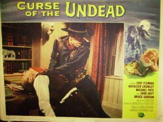 of the Undead 1959 Universal oictures Eric fleming Kath Crowley poster