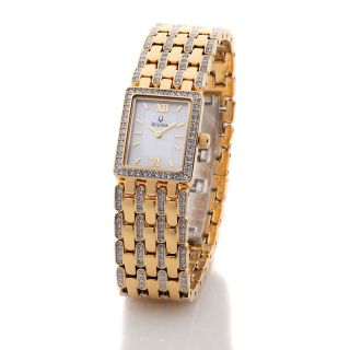 Jewelry Watches Womens Bulova Ladies Mother of Pearl Bracelet