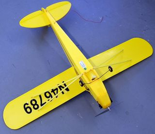 Exceed RC N46789 J3 Piper Cub with Remote EXTRAS RC Airplane
