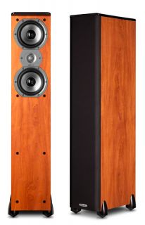New Polk Audio TSI 200 Home Theater Bookshelf Speakers TSI200 Stereo