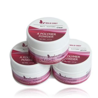 Colors Pink White Clear Color Acrylic Polymer Powder for Acrylic