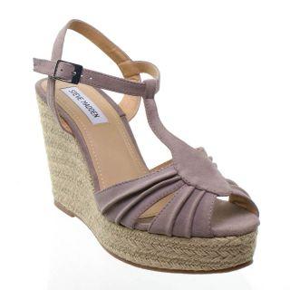 Steve Madden Mammbow Platform Wedge Sandal Beige 1_8