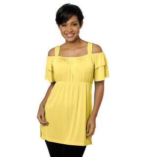 brand off the shoulder empire waist tunic rating 18 $ 11 97 s h
