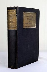 Ernest Hemingway A Farewell to Arms 1st 2nd HC 1929 Charles Scribners