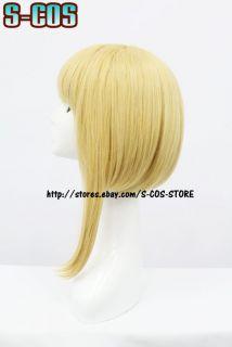 Black Butler Elizabeth Cosplay Wig Costume Gold Colour