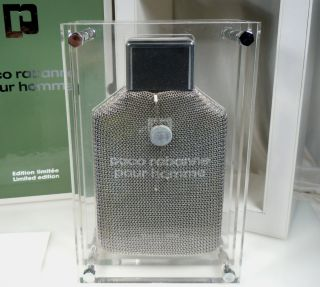 limited edition factice perfume bottle paco rabanne
